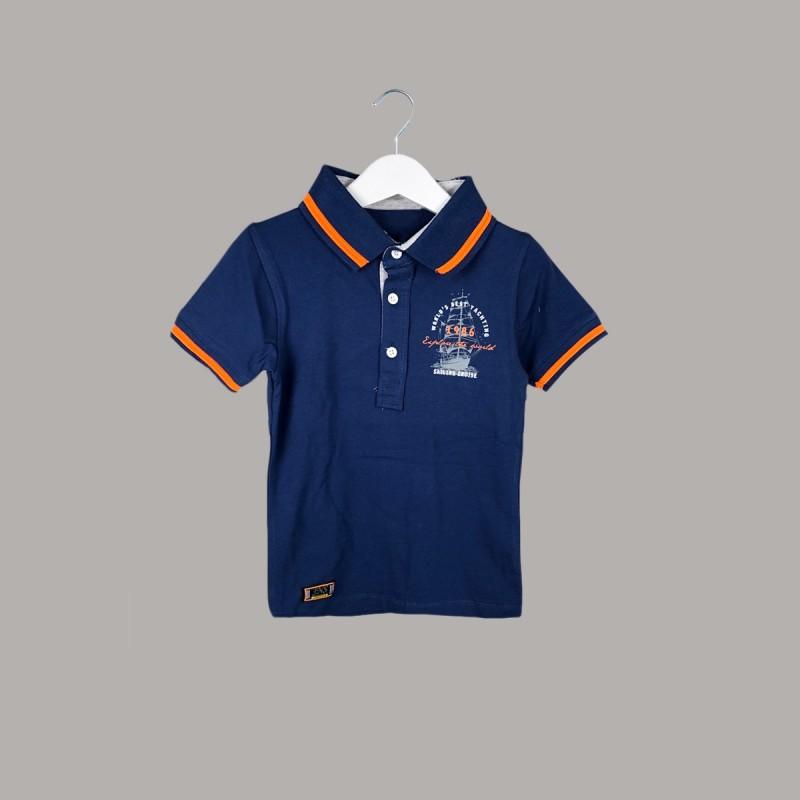 Детска тениска Keiki с къс ръкав за момчета. - 54640-036 - view 1
