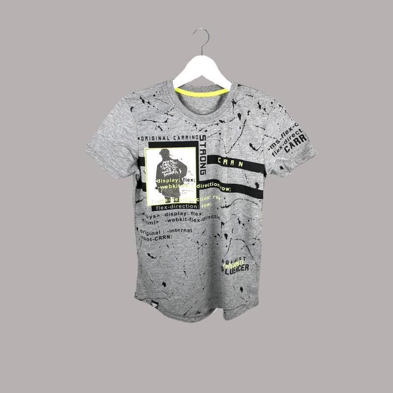 Детска тениска Keiki с къс ръкав за момчета. - 50773-049 - view 1