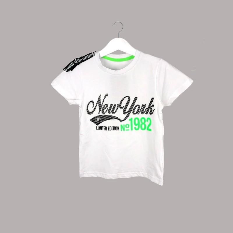 Детска тениска Keiki с къс ръкав за момчета. - 54642-001 - view 1