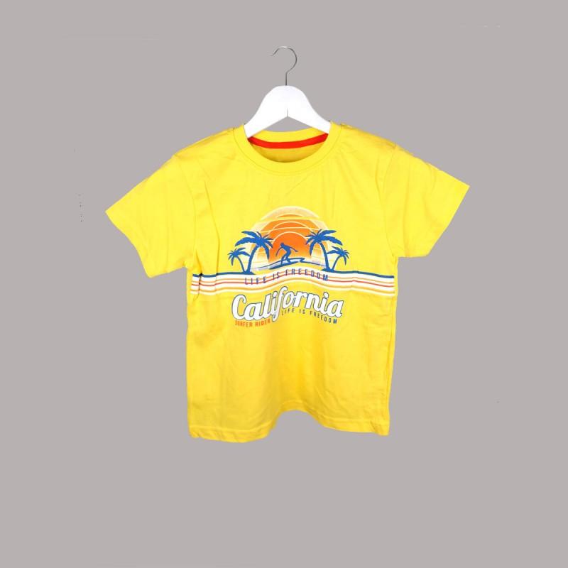 Детска тениска Keiki с къс ръкав за момчета. - 52810-009 - view 1
