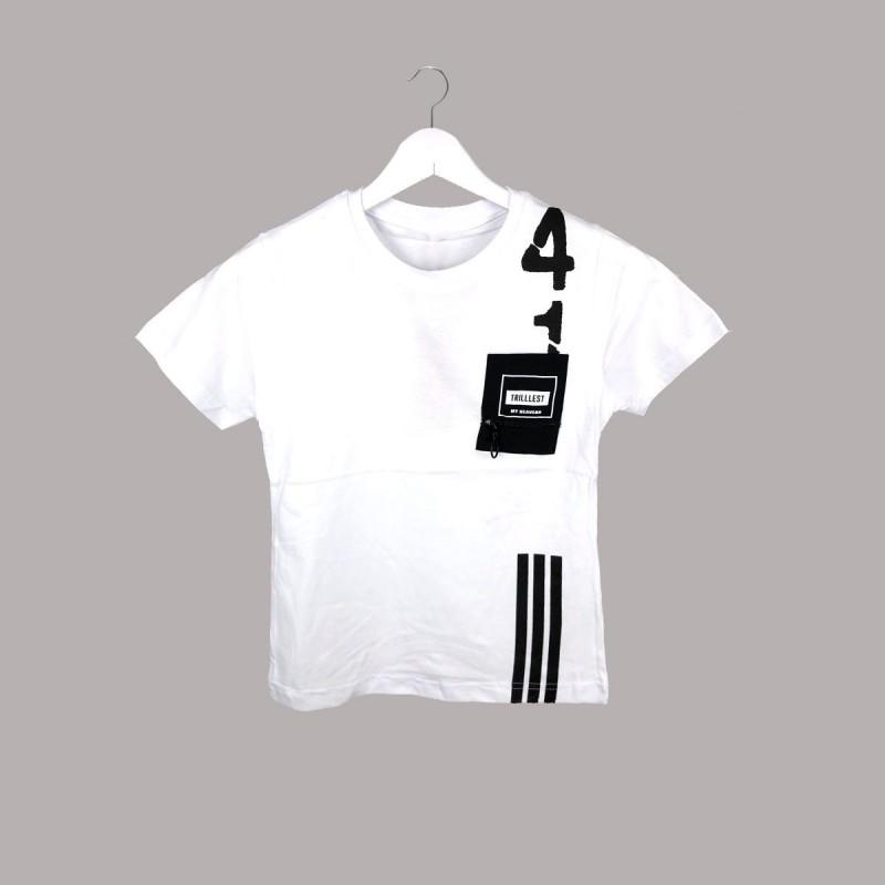 Детска тениска Keiki с къс ръкав за момчета. - 54755-001 - view 1