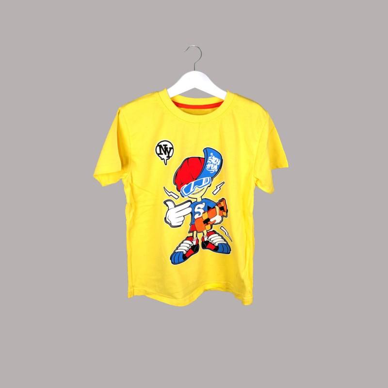 Детска тениска Keiki с къс ръкав за момчета. - 52818-009 - view 1