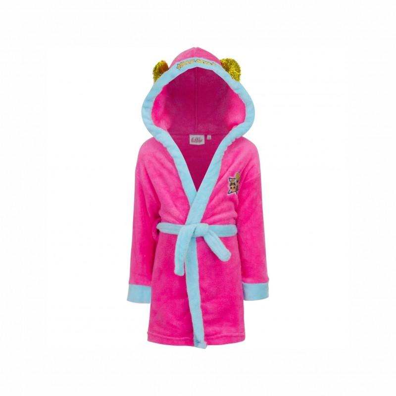 Детски халат за баня L.O.L. Surprise (Кукла Лол) за момичета. - LOL-19-046A - view 1