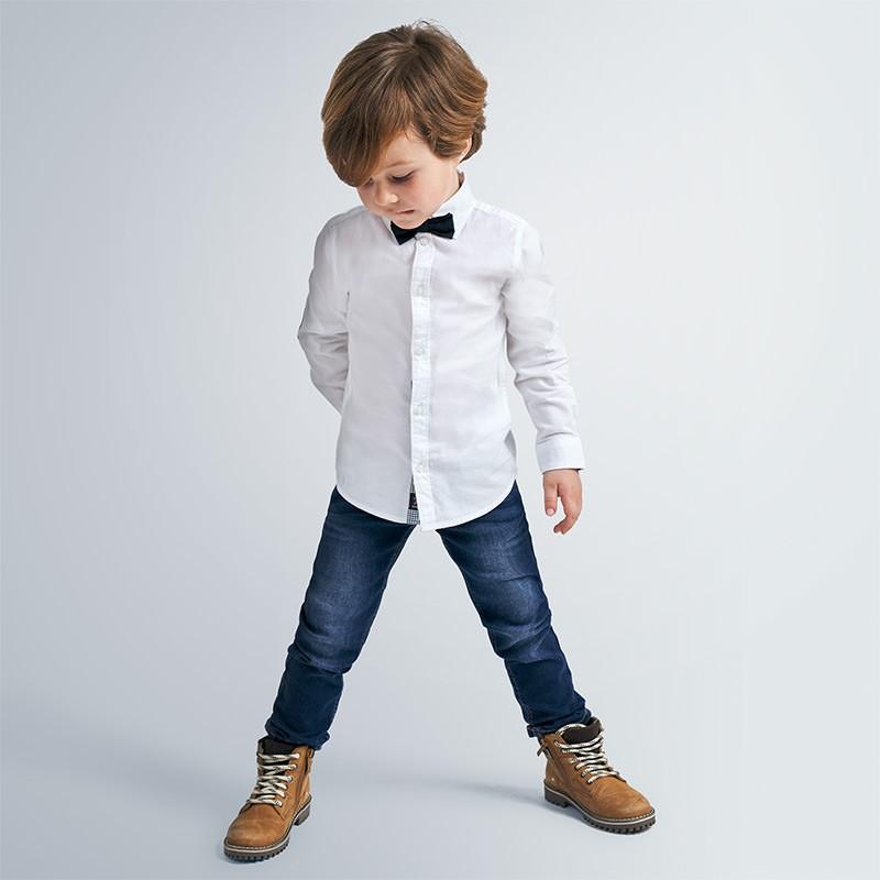 Детски дълги дънки Mayoral за момчета - 40-076 - view 1