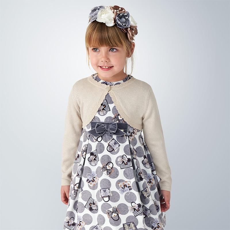 Детска жилетка Mayoral с дълъг ръкав за момичета - 314-037 - view 1