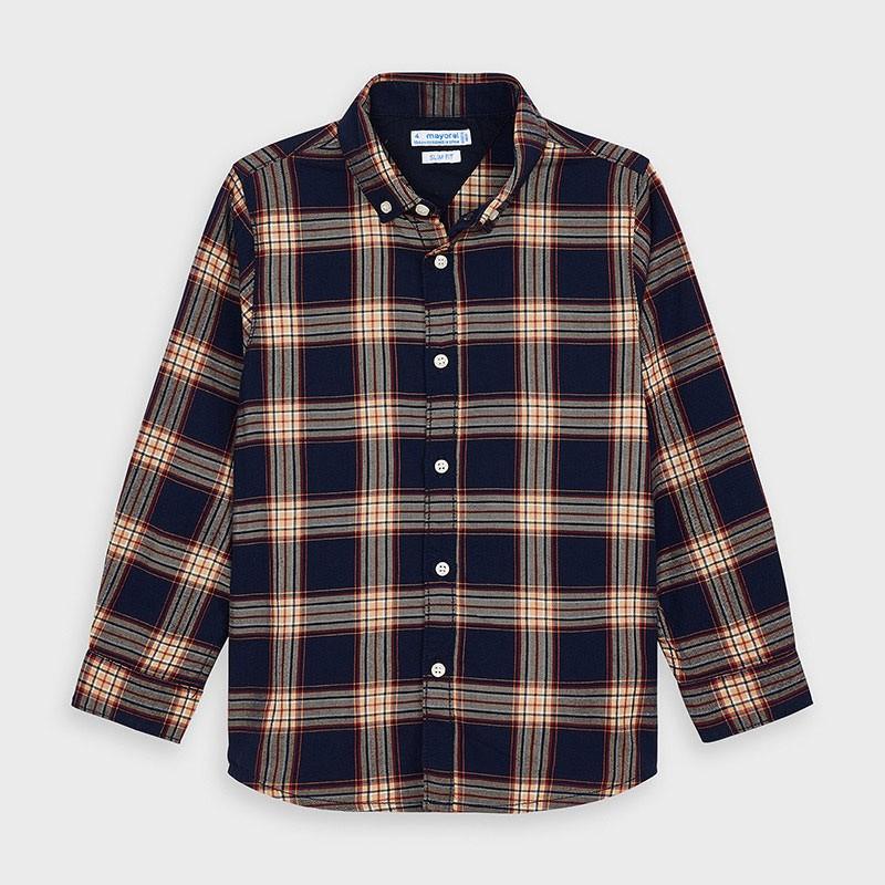 Детска риза Mayoral с дълъг ръкав за момчета - 4147-032 - view 1