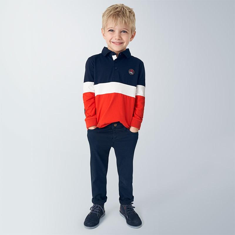 Детски дълги панталони Mayoral за момчета - 4528-064 - view 1