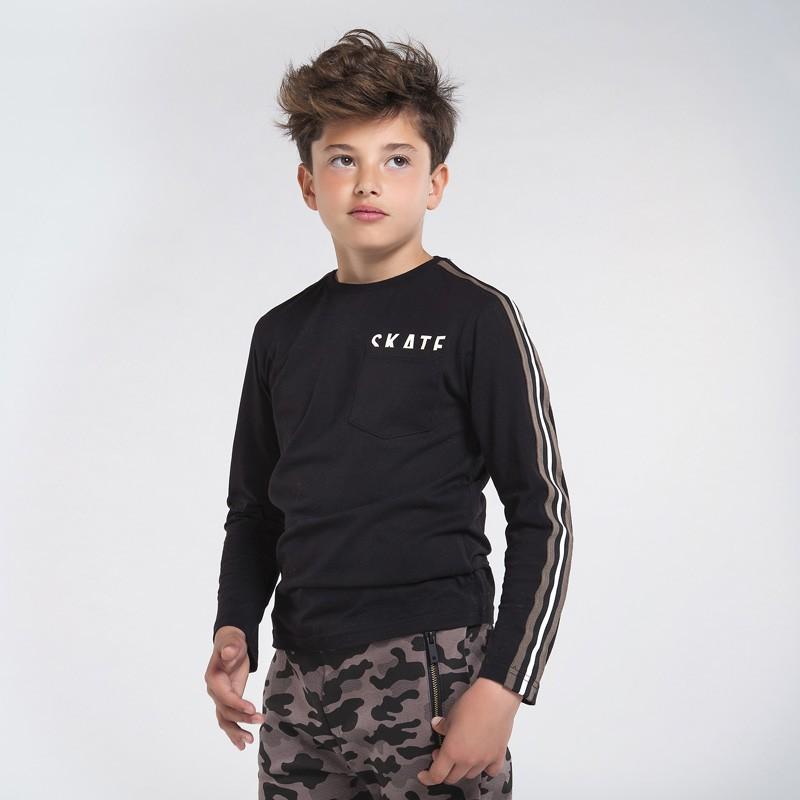 Детска тениска Mayoral с дълъг ръкав за момчета - 7045-081 - view 1