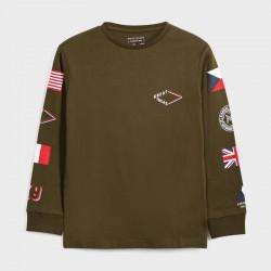 Детска тениска Mayoral с дълъг ръкав за момчета - 7048-085 - view 2