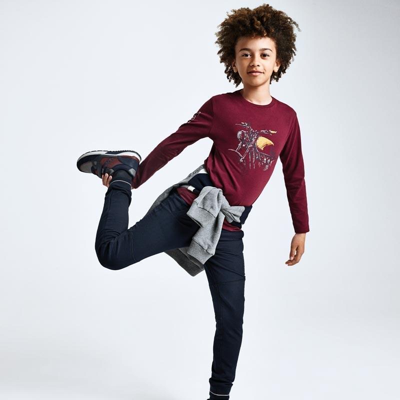 Детски дълги спортни панталони Mayoral за момчета - 7529-015 - view 1