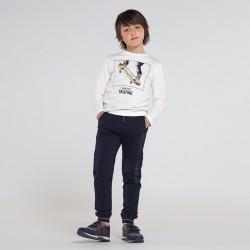 Детски дълги спортни панталони Mayoral за момчета - 7529-015 - view 3