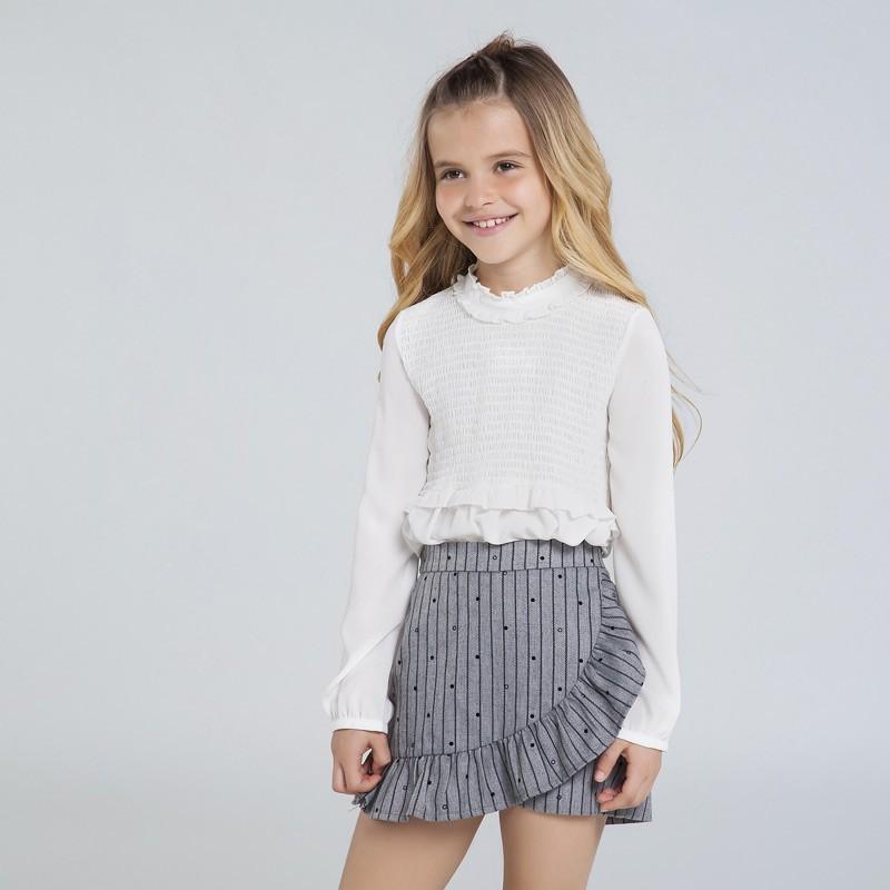 Детска пола панталон Mayoral за момичета - 7951-089 - view 1