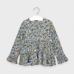 Детска блуза Mayoral за момичета - 4149-090 - view 2