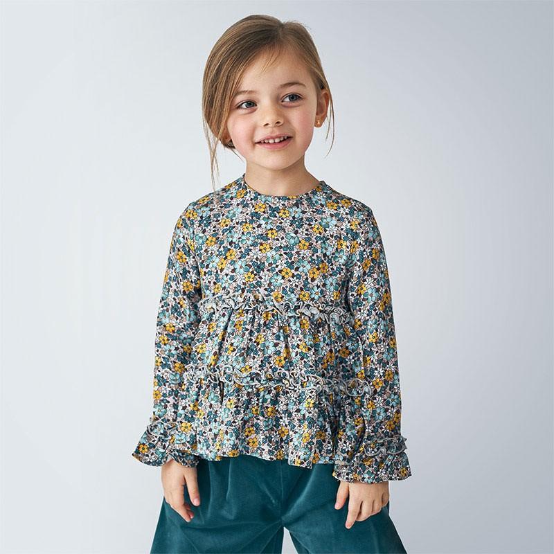 Детска блуза Mayoral за момичета - 4149-090 - view 1