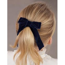 Ластик за коса двойна панделка Abel & Lula за момичета - 5923-010 - view 1