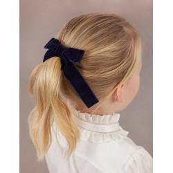 Ластик за коса двойна панделка Abel & Lula за момичета - 5923-010 - view 2