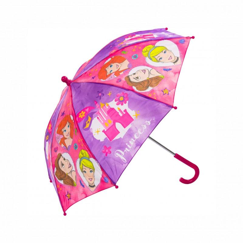 Детски чадърPrincess (Принцесите) 75см. за момичета - 8719558018666 - view 1