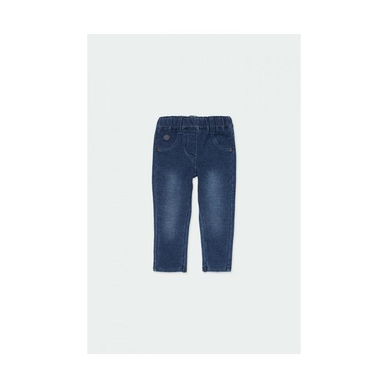 Дълги дънки jeggings Boboli за момичета - 290001-BLUE - view 1