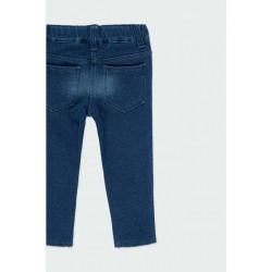 Дълги дънки jeggings Boboli за момичета - 290001-BLUE - view 4