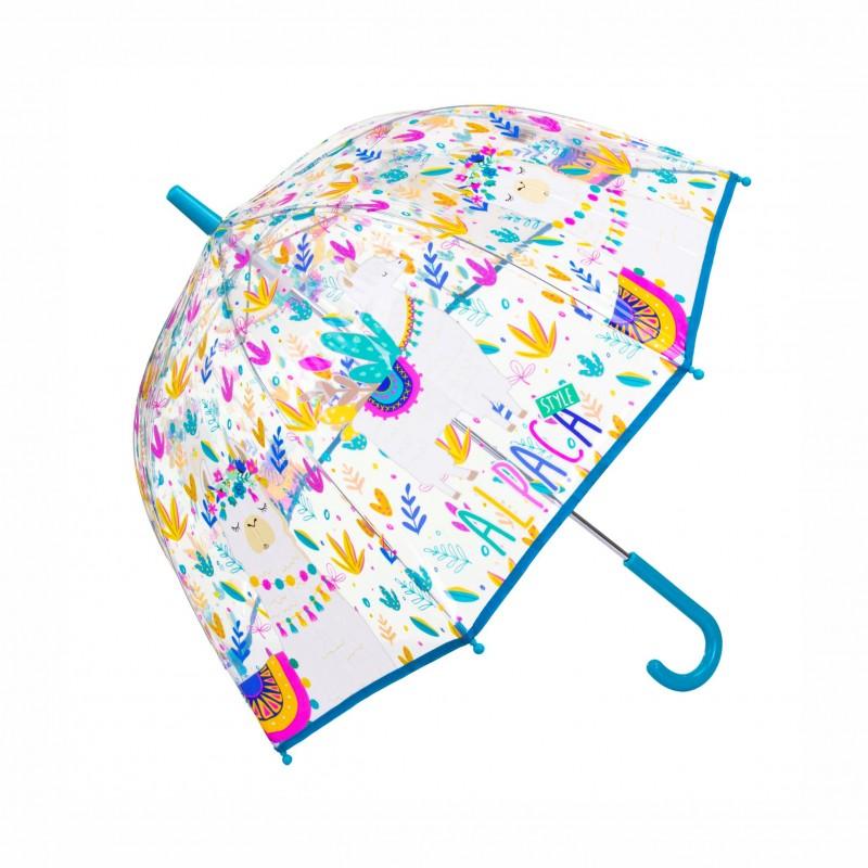 Детски чадърAlpaca style (Лама) 98см. за момичета - KL10091 - view 1