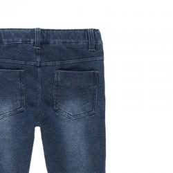 Дълги дънки jeggings Boboli за момичета - 490014-BLUE - view 4