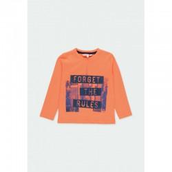 Комплект Boboli с тениска дълъг ръкав и спортни панталони за момчета - 501219-5095 - view 3