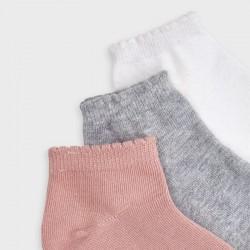 Комплект чорапи Mayoral в три цвята за момиче - 10877-050 - view 2