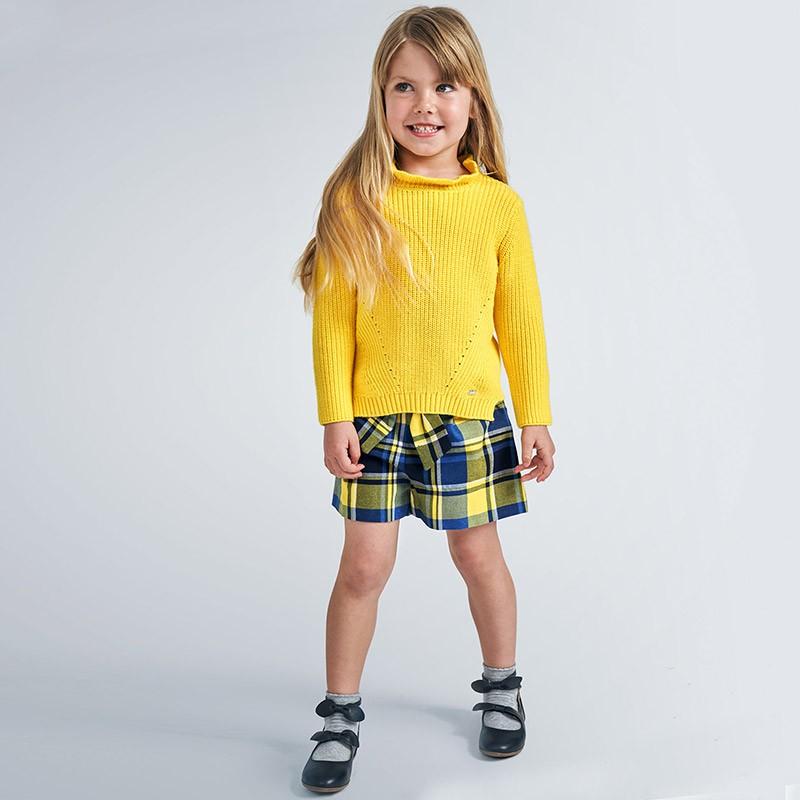 Къси панталони каре Mayoral за момичета - 4206-042 - view 1