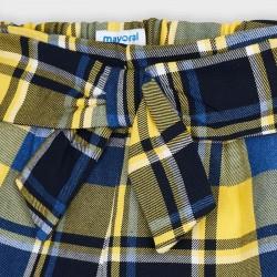 Къси панталони каре Mayoral за момичета - 4206-042 - view 3