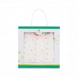 Бебешки гащеризон Minnie Mouse (Мини Маус) за момичета. - HQ0034 pink - view 2