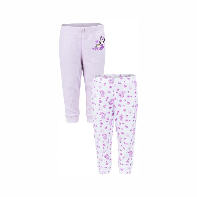 Бебешки комплект 2бр. клинове Minnie Mouse (Мини Маус) за момичета. - AQE0482 purple-56 - view 1