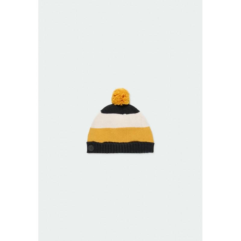 Плетена зимна шапка Boboli за момчета - 341121-8116 - view 1
