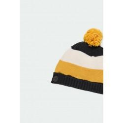 Плетена зимна шапка Boboli за момчета - 341121-8116 - view 3