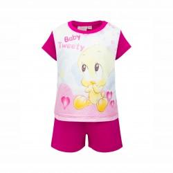 Пижама Tweety с къс ръкав - ER0332 fuxia-74 - view 1