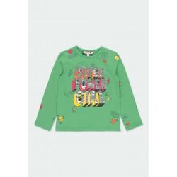 Тениска Boboli с дълъг ръкав - 411084-4518 - view 1