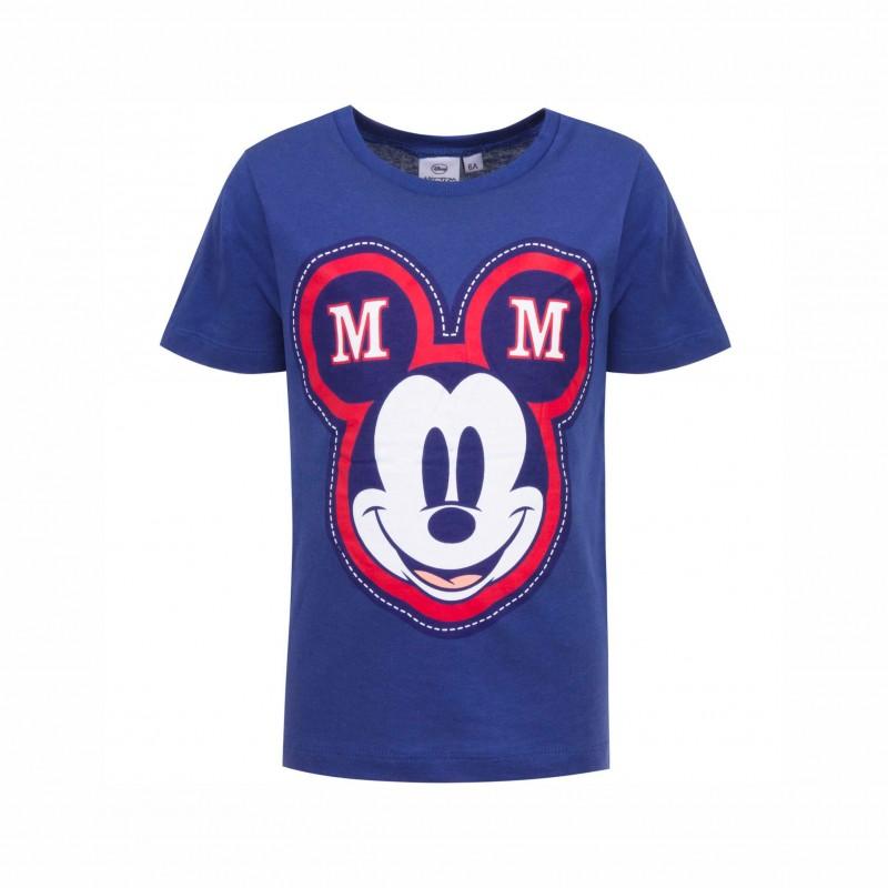 ДетскатенискаMickey Mouse (Мики Маус) с къс ръкав за момчета. - HS1301 blue-116 - view 1