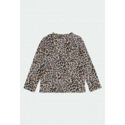 Тениска Boboli с дълъг ръкав за момичета - 441021-9392 - view 2