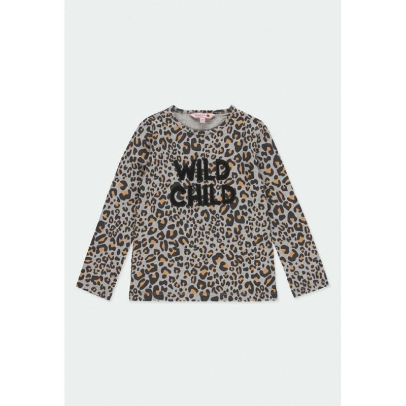 Тениска Boboli с дълъг ръкав за момичета - 441021-9392 - view 1