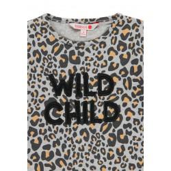 Тениска Boboli с дълъг ръкав за момичета - 441021-9392 - view 4