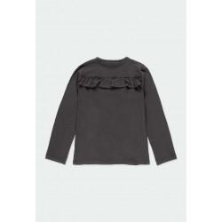 Тениска Boboli с дълъг ръкав за момичета - 441065-8116 - view 2