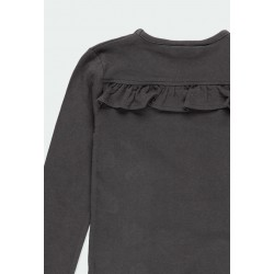 Тениска Boboli с дълъг ръкав за момичета - 441065-8116 - view 5