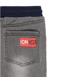 Дълги дънки Boboli за момчета - 501152-GREY - view 6