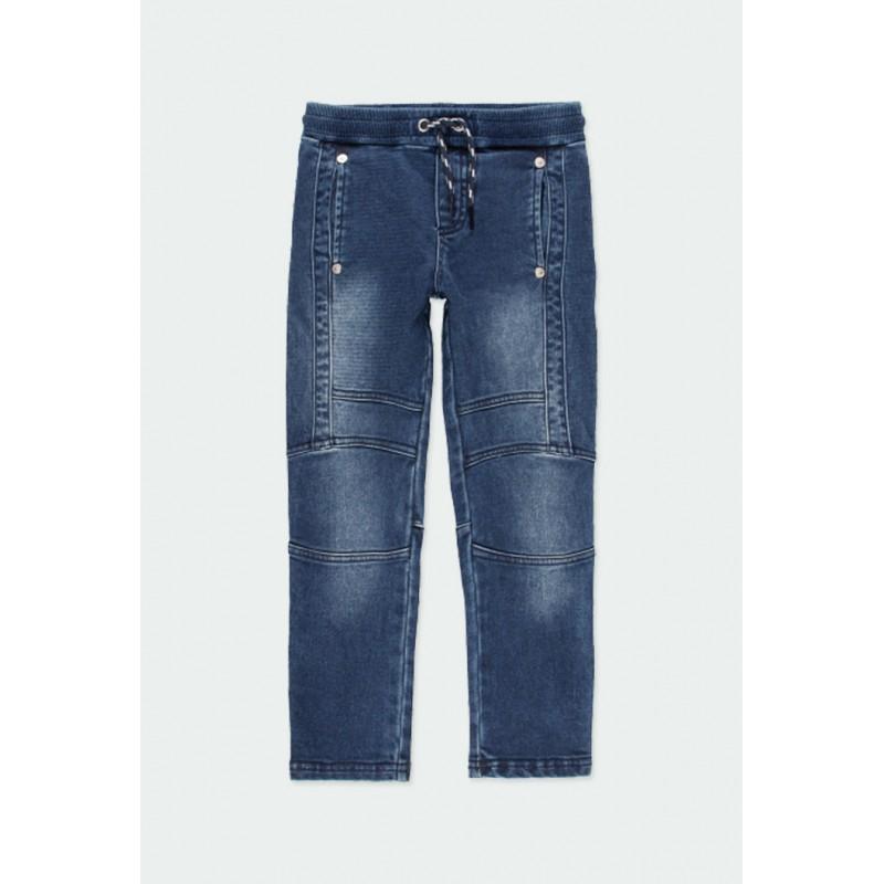 Дълги дънки Boboli за момчета - 501163-BLUE - view 1