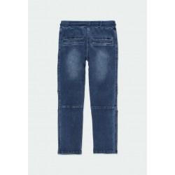 Дълги дънки Boboli за момчета - 501163-BLUE - view 2