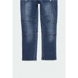 Дълги дънки Boboli за момчета - 501163-BLUE - view 5