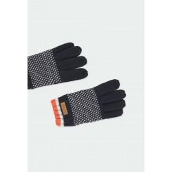 Плетени зимни ръкавици Boboli за момчета - 501196-2440 - view 3
