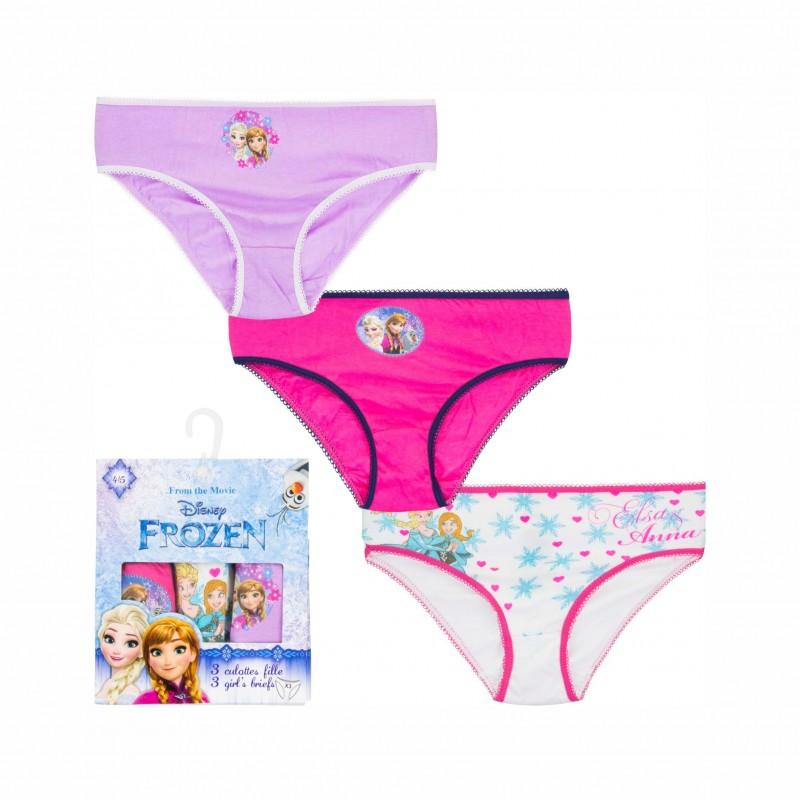 Детски комплект 3бр.бикиниFrozen (Замръзналото кралство) за момичета. - HQ3001-122 - view 1