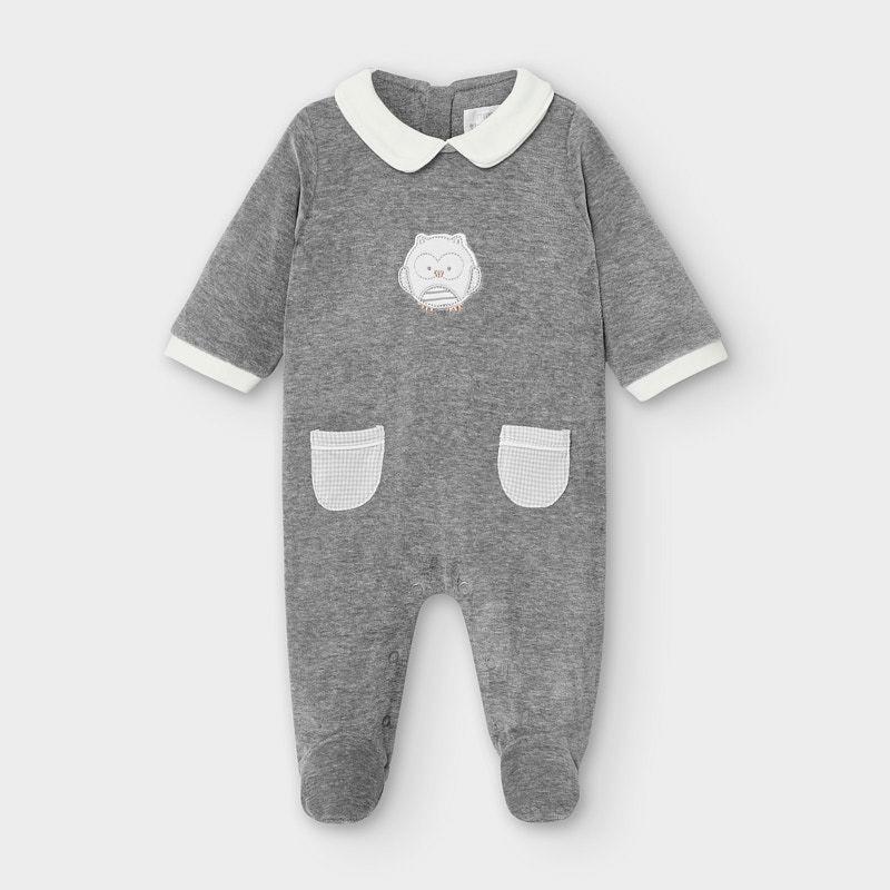 Плюшена пижама Mayoral за новородено момче - 2764-036 - view 1