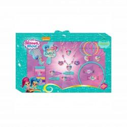 Детски комплект бижута и аксесоари за коса Shimmer & Shine (Искрица и Сияйница)за момичета - SH16031 - view 1