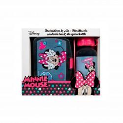 Детски комплект алуминиева бутилка и кутия за храна Minnie Mouse (Мини Маус) за момичета. - MIHL9881 - view 2